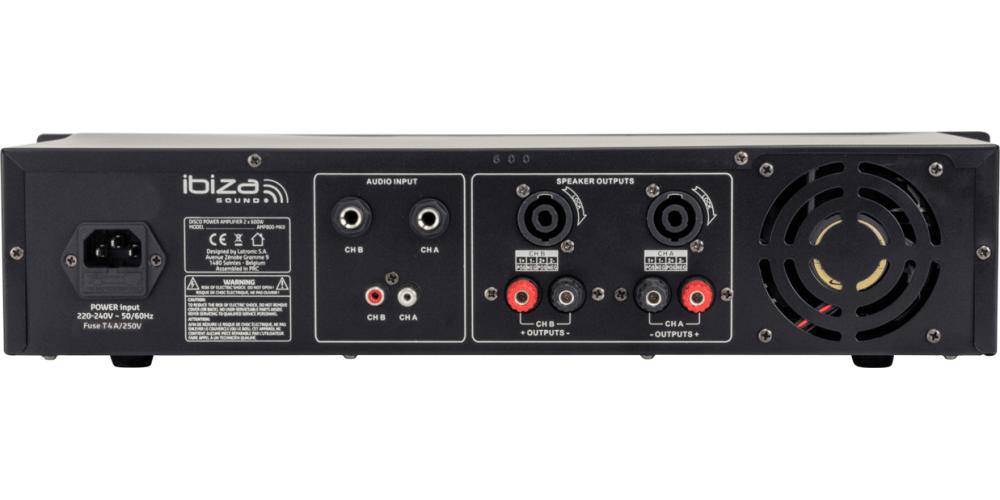 comprar IBIZA SOUND AMP600Mk2