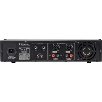 IBIZA SOUND AMP600Mk2 Etapa Potencia 2 x 480 W