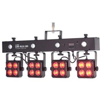 Eurolite LED KLS-180 Compact Light Set Black Focos LEDs