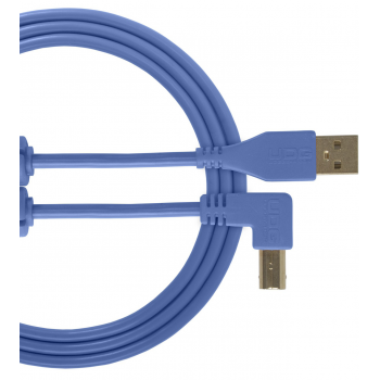 Udg U95005LB Ultimate Cable USB 2.0 A-B Azul en Angulo 2M