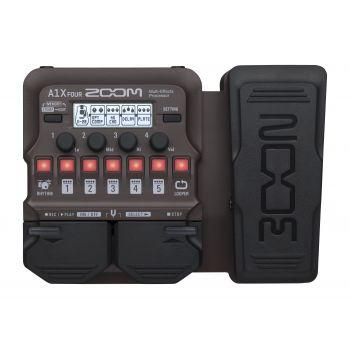 Zoom A1X Four Pedal Multiefectos para Guitarra Acústica