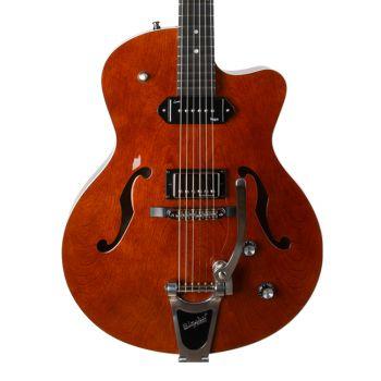 GODIN 5th Avenue Uptown Custom Havana Brown. Guitarra Eléctrica + Funda
