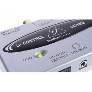 BEHRINGER UCA202 Interface de Audio Behringer UCA-202  Und.