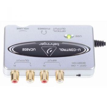 BEHRINGER UCA202 Interface de Audio Behringer UCA-202  Und.