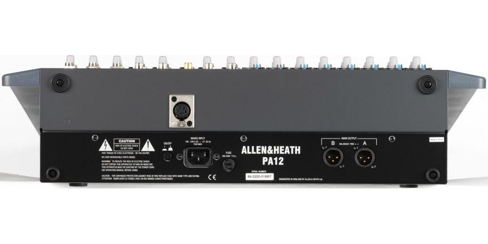 ALLEN-HEATH PA12 Mezclador