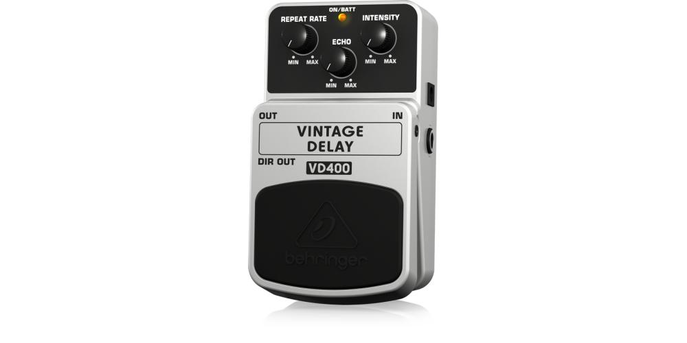 VD400 behringer pedal delay