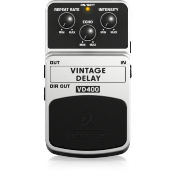 BEHRINGER VD400 Pedal  Guitarra Efecto Delay Behringer VD-400