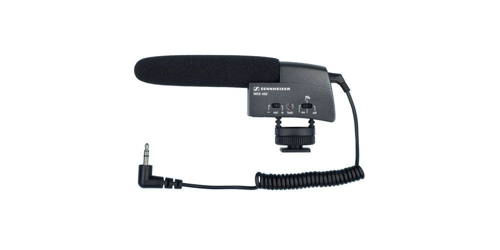 Sennheiser MKE 400 Micrófono Cámara