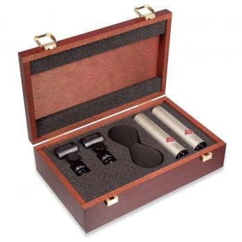 NEUMANN KM185 Stereo Set , Microfono Cardioide,Niquel