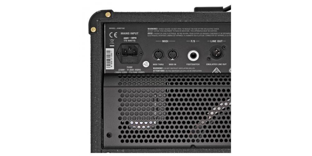 marsshall jvm215c combo amplificador entrada