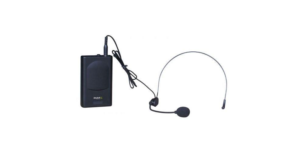IBIZA SOUND VHF4, Microfono Inalambrico 4 Micros