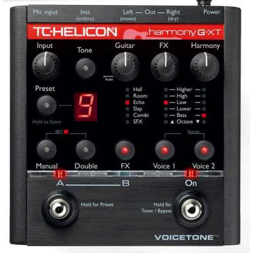 TC-Helicon VoiceTone Harmony-G XT Multiefectos