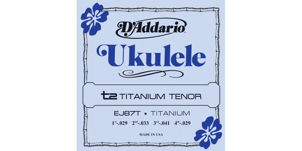 d addario ej 87t tenor titani