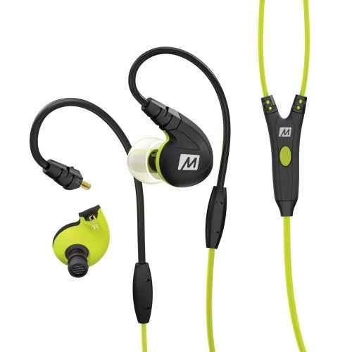 Mee Audio M7P Verde Auriculares deportivos con control integrado