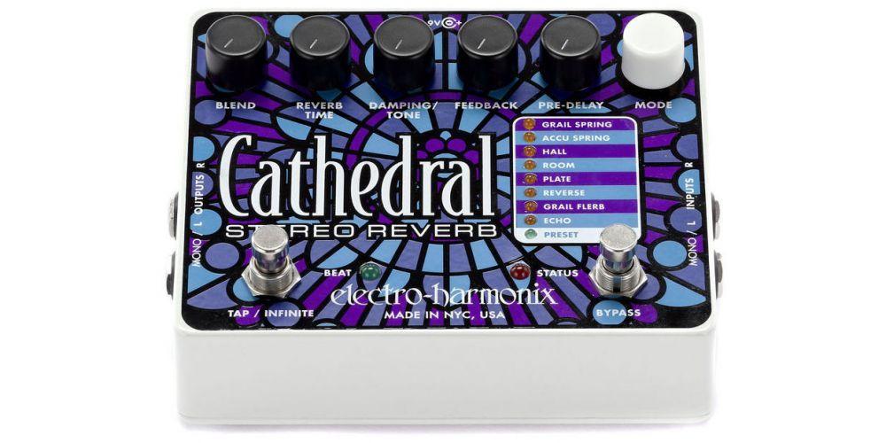 elektro harmonix cathedral reverb