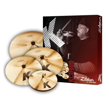 ZILDJIAN K CUSTOM DARK Set Platos
