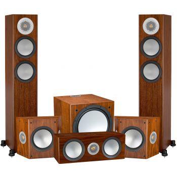 Monitor Audio Silver 200 AV12 POWER Walnut, Silver200+silverFX+Silver C150+W12