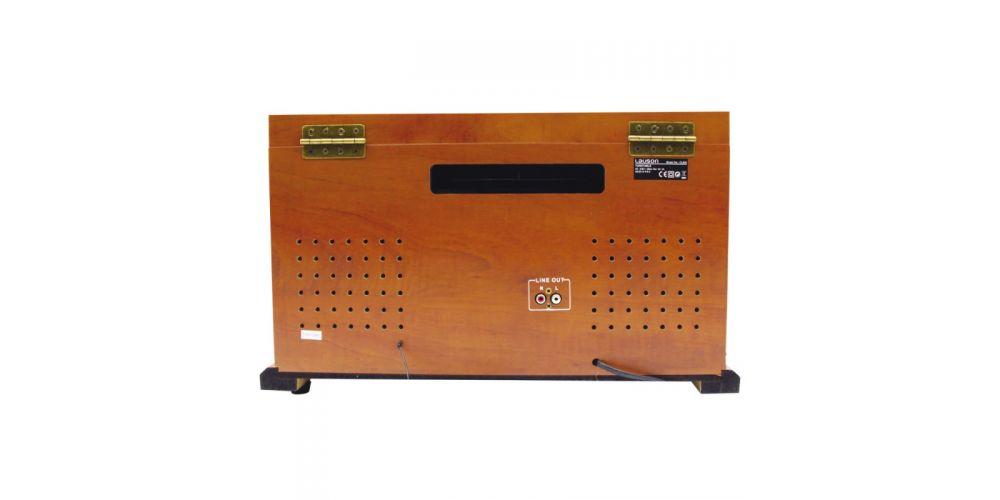lauson tocadiscos con bluetooth funcion encoding cdmp3 radio amfm cl 606 conexioners