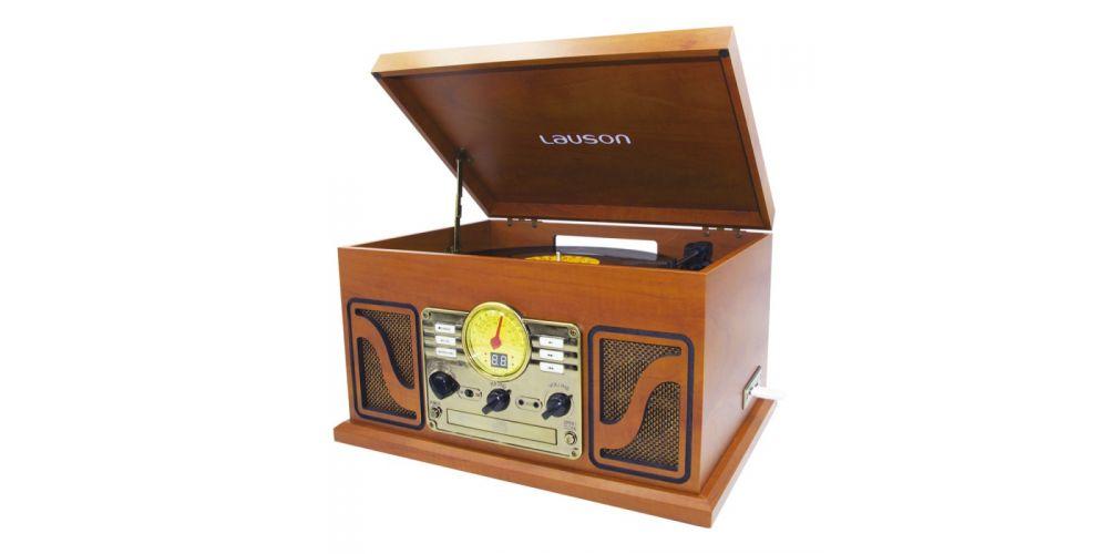 lauson tocadiscos con bluetooth funcion encoding cdmp3 radio amfm cl606