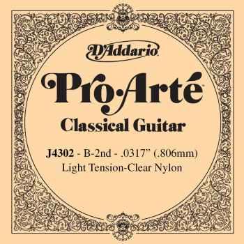 D´addario J4302 Cuerdas para Guitarra Española