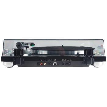 TEAC TN-350 Giradiscos HiFi con USB y Previo Phono. Negro