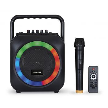 Fonestar BOX-35LED Altavoz portatil karaoke