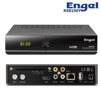 ENGEL RS8100Y Receptor satélite Digital HD PVR WiFi USB HDMI RS-8100Y