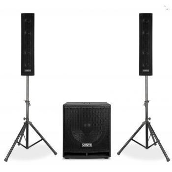Vonyx VX880BT Sistema PA Activo 2.1 170107 Bluetooth