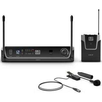 LD Systems U308 BPW Sistema inalámbrico con Petaca y Micrófono clip para Instrumentos de Viento