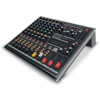 Audibax MG804-XU Mezclador 8 Canales, Efectos, USB y Bluetooth