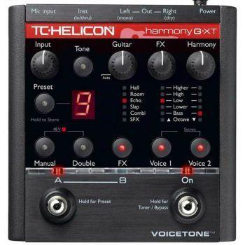 TC Helicon VoiceTone Harmony G XT Procesador de Efectos Vocales