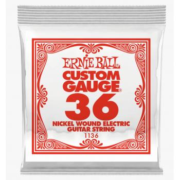 Ernie Ball 1136 Slinky Entorchada Cuerda Para Guitarra Electrica 036