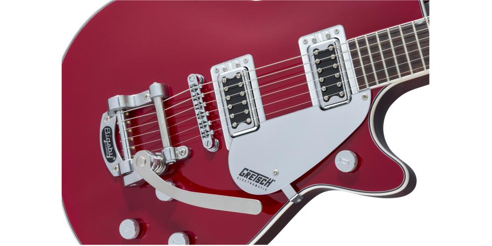 gretsch g5230t electromatic jet ft firebird red pastillas