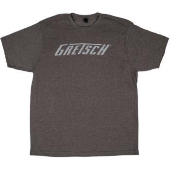 Gretsch Logo T-Shirt Gray Talla L