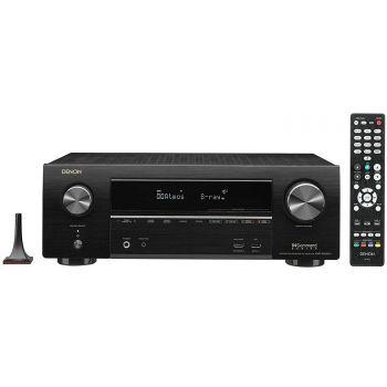 Denon Equipo AV AVR-X1600 +Jamo s805 HCS  Black+S808Altavoces Home Cinema.