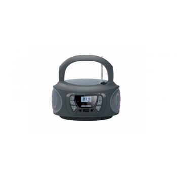 Fonestar BOOM-ONE-G Radio CD Bluetooth USB Gris