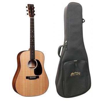 Martin D-10E Guitarra Electroacústica con Funda