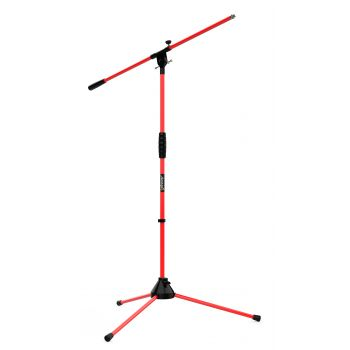 Audibax Ayra 10 Red Soporte Micrófono Suelo Jirafa Ajustable