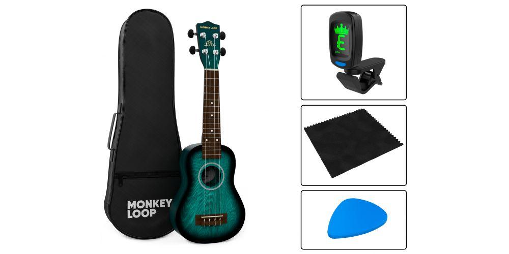 monkey loop jungle pack blue accessories