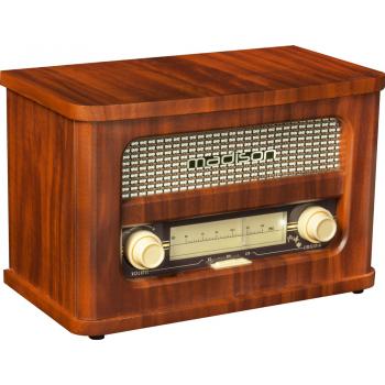 Madison MAD-RETRO Radio Vintage con Batería , Bluetooth y Radio