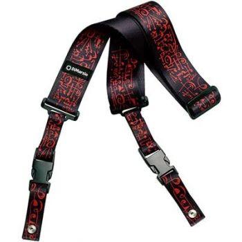DiMarzio DD2243 Clip Lock Steve Vai Black-Red