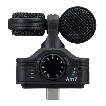 Zoom AM7 Microfono Estéreo para Dispositivos Android