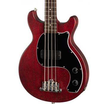 Gibson Les Paul Junior Tribute DC Bass Worn Cherry Bajo Eléctrico