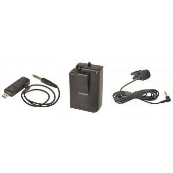 Qtx U-MIC Sistema Inalámbrico UHF 864.8MHz