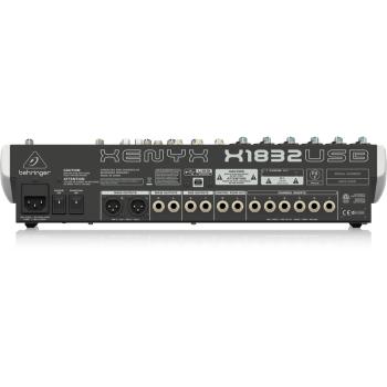 BEHRINGER X1832 USB Mezclador USB de 18 canales