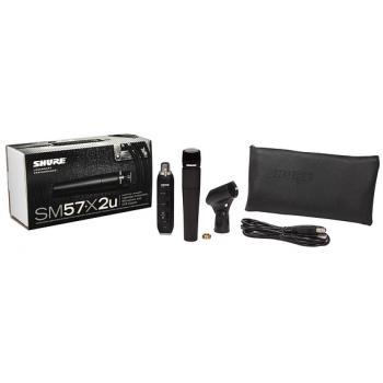 SHURE SM57 LC X2U Micrófono Profesional SM-57LCX2U