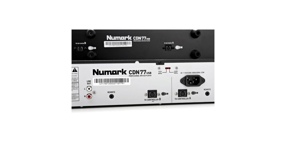 Numark CDN-77 USB Cd Doble Mp3 USB