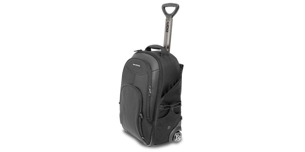 UDG U8007BL Creator Wheeled Laptop Backpack Black 21'' Version 2