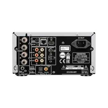 ONKYO CR-N765B Micro Cadena Sin Altavoces, Negro