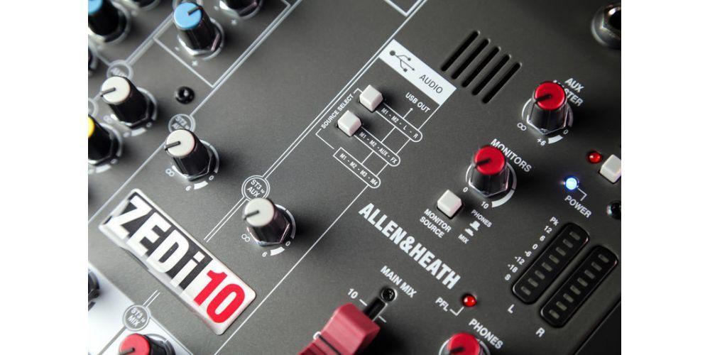 ALLEN-HEATH ZEDi 10 Mezclador de 10 canales